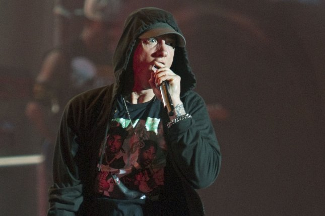 Eminem, seen here at the 2014 Squamish Valley Music Festival, performed with 50 cent and Dr. Dre at Coachella. File Photo by Heinz Ruckemann/UPI