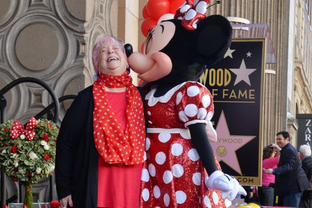Minnie Mouse voice actress Russi Taylor died at the age of 75 on Friday. File Photo by Jim Ruymen/UPI