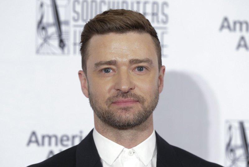 Justin Timberlake turned 40 Sunday. File Photo by John Angelillo/UPI