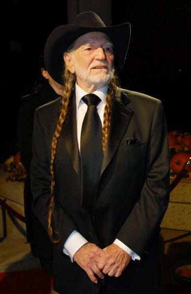 Willie Nelson arrives at the 55th annual BMI Country Awards in Nashville, Tennessee on November 6, 2007. Nelson will be honored as a BMI Icon this year. (UPI Photo/Alexis C. Glenn)