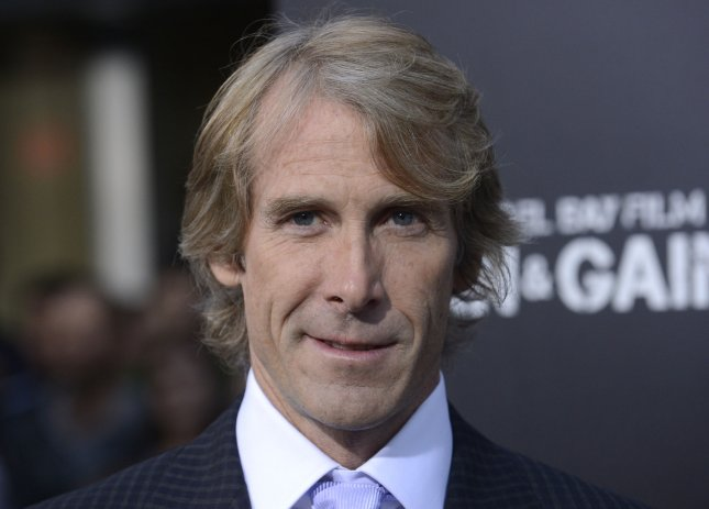 Director and producer Michael Bay attends the premiere of the film Pain & Gain at the TCL Chinese Theatre in the Hollywood section of Los Angeles on April 22, 2013. UPI/Phil McCarten