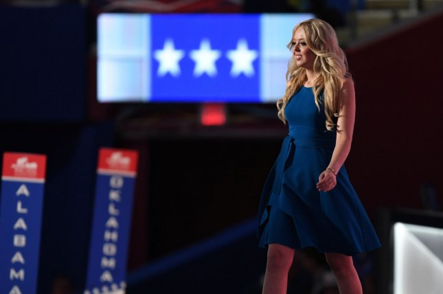Tiffany Trump, daughter of President Donald Trump and second wife Marla Maples, will go to law school at Georgetown University this fall, the Washington, D.C., school confirmed Monday. File Photo by Pat Benic/UPI