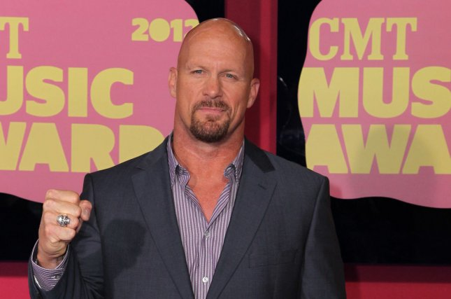 Professional wrestling icon Stone Cold Steve Austin will be the subject of a new Biography documentary from WWE and A&E Network. File Photo by Terry Wyatt/UPI