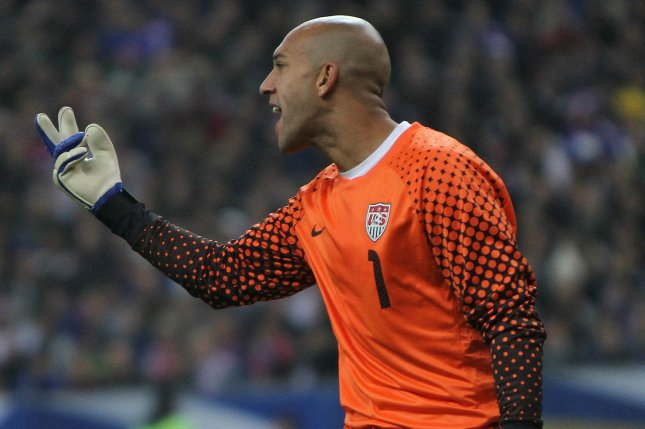 Former United States Men's National Team goalie Tim Howard played in 121 games internationally, including three World Cups. File Photo by David Silpa/UPI