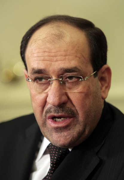 Maliki talks elections with cleric Sistani