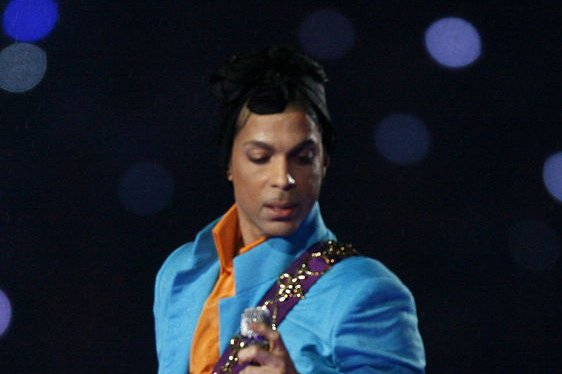 Prince performs at half time at Super Bowl XLI at Dolphin Stadium in Miami on February 4, 2007. The medical examiner said Thursday that the musician died of an opioid overdose. File Photo by Gary C. Caskey/UPI
