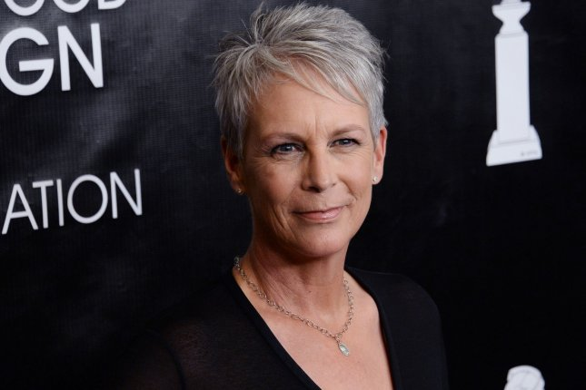 Jamie Lee Curtis posted on social media the first shot from her upcoming Halloween film. File Photo by Jim Ruymen/UPI