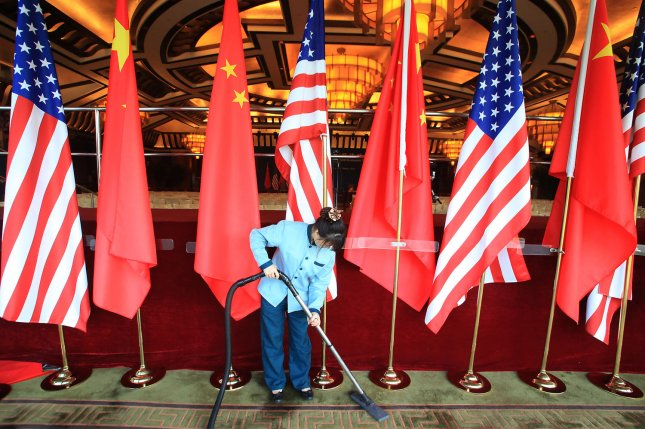 The committee's 281-page bill includes measures to beef up surveillance of China's intellectual property theft and moves to bypass U.S. export controls. File Photo by Stephen Shaver/UPI