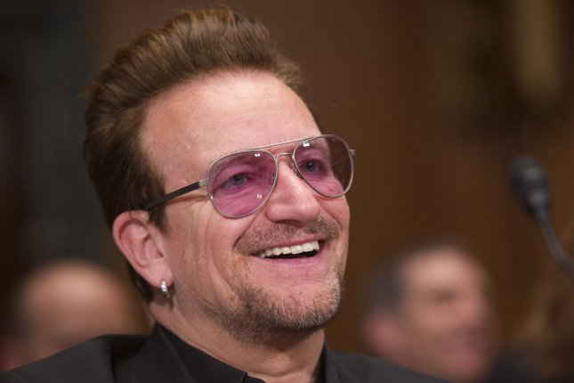 Bono voices retired rock legend Clay Calloway in the new trailer for Sing 2. File Photo by Kevin Dietsch/UPI