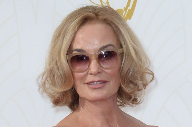 Jessica Lange at the Primetime Emmy Awards on September 20, 2015. File Photo by Jim Ruymen/UPI