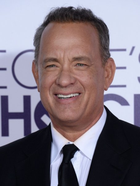 Tom Hanks at the People's Choice Awards on January 18. File Photo by Jim Ruymen/UPI