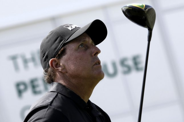 Phil Mickelson spent nearly 26 years in the top 50 of the Official World Golf Ranking. Photo by Peter Foley/UPI