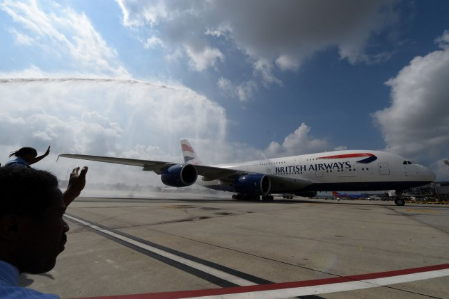An airport official said the problem appeared to be in British Airways' flight planning system. File Photo by Molly Riley/UPI