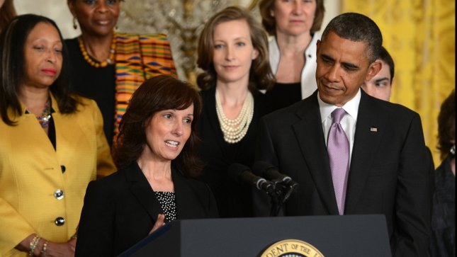 Affordable Care Act state marketplaces innovative one-stop shops. President Barack Obama is introduced by Carol Metcalf during an event regarding Obama's signature healthcare program in the East Room of the White House in Washington, DC on May 10, 2013. Metcalf noted how the new law allowed her son Justin to stay on her insurance as he recovers from a traumatic brain injury. Key provisions of the the Affordable Care, sometimes called Obamacare, to insure the uninsured go into effect in the six months. UPI/Pat Benic