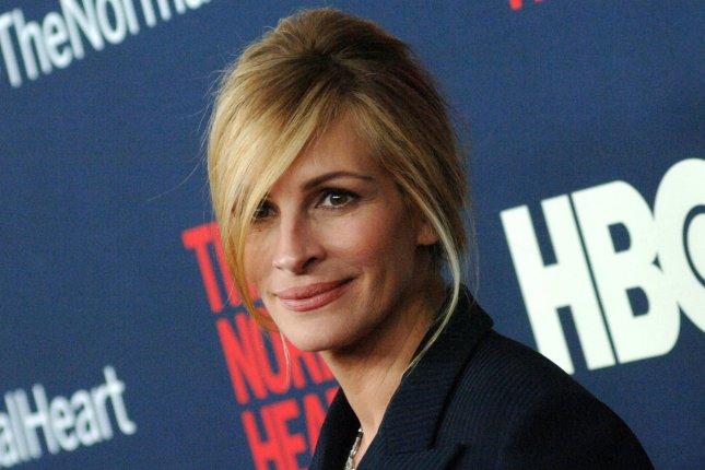 Julia Roberts arrives on the red carpet at the The Normal Heart New York Screening at Ziegfeld Theater in New York City on May 12, 2014. UPI/Dennis Van Tine