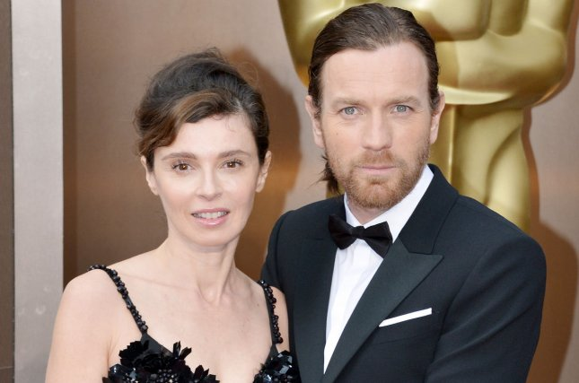 Ewan McGregor and Eve Mavrakis in a March 2014 UPI file photo.