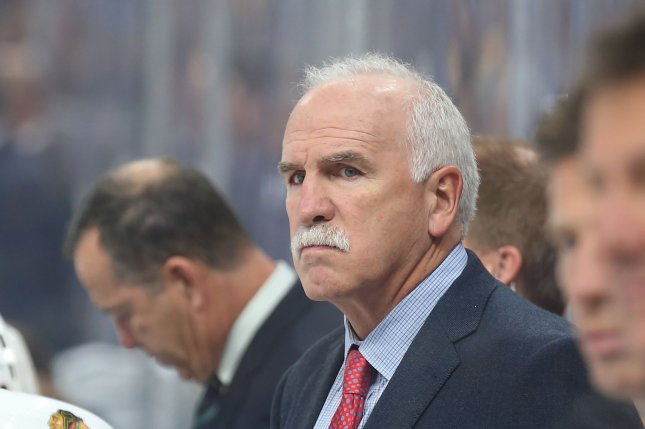New Florida Panthers head coach Joel Quenneville won three Stanley Cups with the Chicago Blackhawks, before being fired in November. File Photo by Bill Greenblatt/UPI