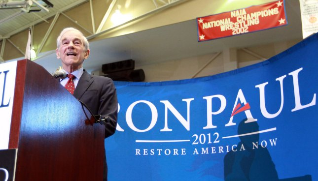 Republican Presidential candidate Ron Paul may not have enough delegates to capture the GOP presidential nomination, but he may collect enough to jam up the Republican National Convention in Tampa, Fla., come August. March 10 file photo. UPI/Bill Greenblatt