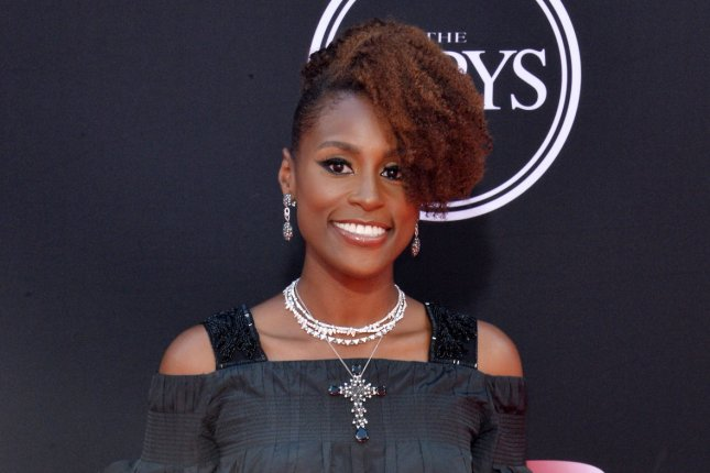 Issa Rae attends the ESPY Awards on July 12. The actress will serve as a brand ambassador for CoverGirl cosmetics. File Photo by Jim Ruymen/UPI