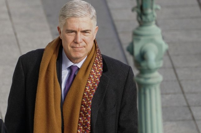 Justice Neil M. Gorsuch wrote the majority opinion denying a longtime undocumented immigrant a chance to present his deportation case in front of an immigration judge. File Photo by Melina Mara/UPI
