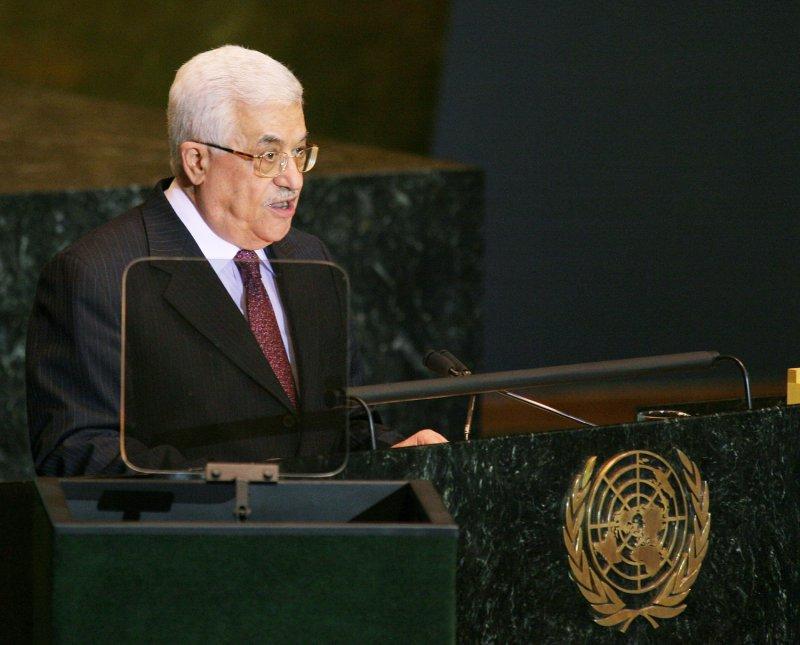 Palestinian Authority President Mahmoud Abbas (UPI Photo/Monika Graff)