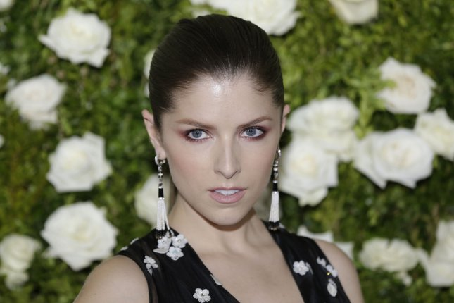 Anna Kendrick arrives on the red carpet at the 71st Annual Tony Awards at Radio City Music Hall on June 11 in New York City. The actor turns 32 on August 9. File Photo by John Angelillo/UPI