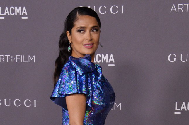 Salma Hayek recounted Harvey Weinstein's alleged behavior on the set of Frida in an op-ed published Tuesday. File Photo by Jim Ruymen/UPI