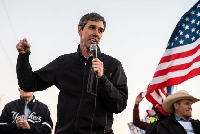 Former U.S. Rep. Beto O'Rourke, a Texas Democrat who tried to unseat Sen. Ted Cruz last fall, announced Thursday he will run for president in 2020. File Photo by Ariana Drehsler/UPI