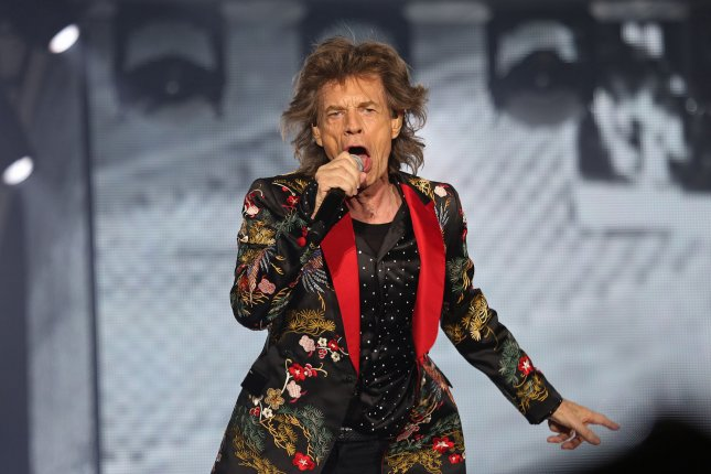 Mick Jagger showed off his dance moves six weeks after undergoing a heart valve procedure. File