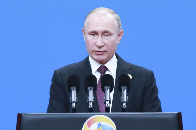 Russian President Vladimir Putin submitted a bill to the country's Federal Assembly to formally withdraw from the Intermediate-Range Nuclear Forces Treaty. File Photo by Pang Xinglei/UPI