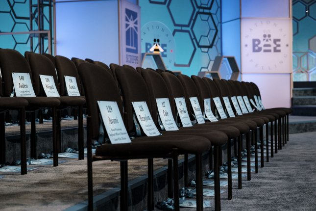 The Scripps National Spelling Bee on Tuesday announced that the 2020 finals will be canceled after saying there was no clear path to set a date for the competition this year due to the global coronavirus pandemic.File Photo by Pete Marovich/UPI