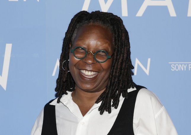 Whoopi Goldberg is one of many celebrities taking part in new Thanksgiving programs set to debut on Nov. 26. File Photo by John Angelillo/UPI