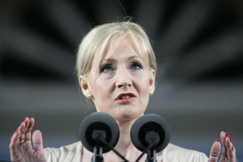 Author J.K. Rowling supports a unified United Kingdom. (UPI Photo/Matthew Healey)