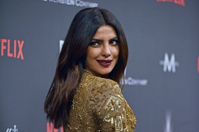 Priyanka Chopra at The Weinstein Co. and Netflix Golden Globes after-party on January 8. The actress plays Alex Parrish on Quantico. File Photo by Christine Chew/UPI
