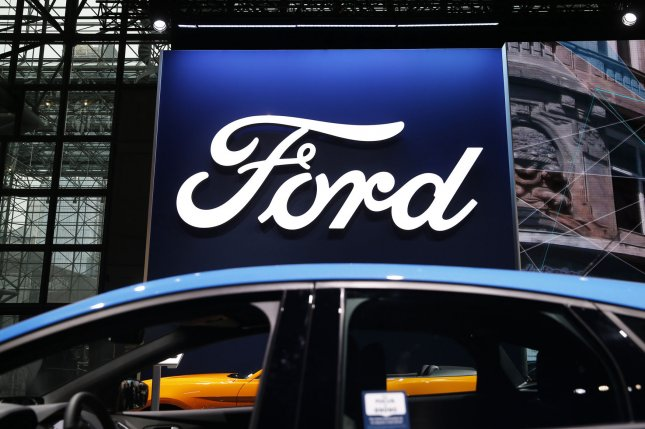 Ford Motor Company announced Wednesday it will temporarily halt production of its popular F-150 pickups due to a fire at a parts supplier. Photo by John Angelillo/UPI