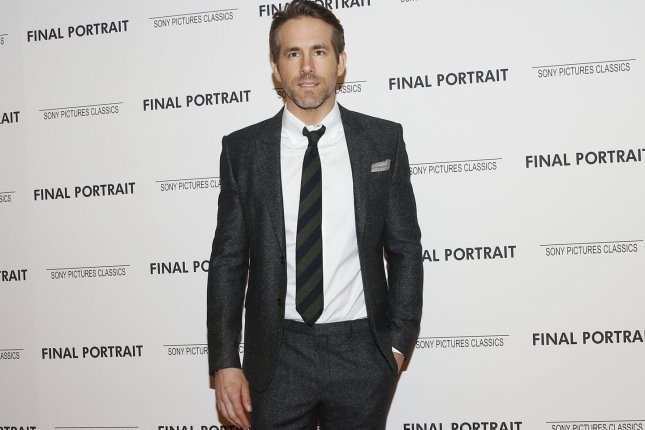 Ryan Reynolds has signed on to star in Netflix's action movie Six Underground. File Photo by John Angelillo/UPI