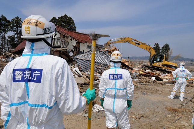 Japan's decision to release treated radioactive water from the nuclear power plant in Fukushima is being met with opposition by neighboring countries. File Photo by Keizo Mori/UPI