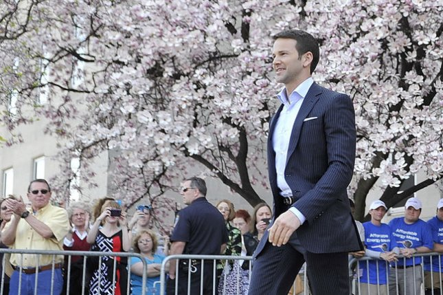 Rep. Aaron Schock, R-IL, accepted the resignation of senior aide Benjamin Cole after it was revealed Cole penned a series of anti-black Facebook rants. UPI/Brian Kersey