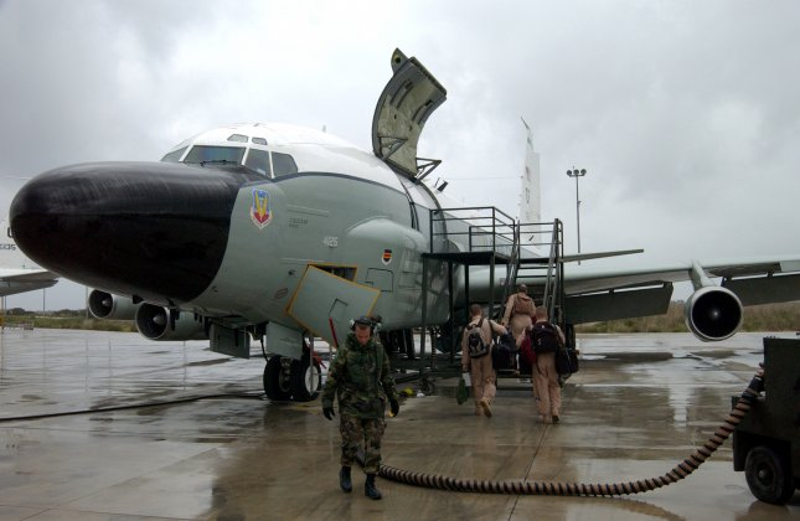 Chinese make 'unsafe' intercept of Air Force plane - UPI com