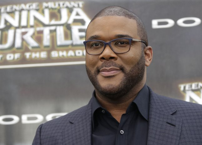 tyler perry arrives on the red carpet at the teenage mutant ninja turtles out of the shadows world premiere at madison square garden on may 22