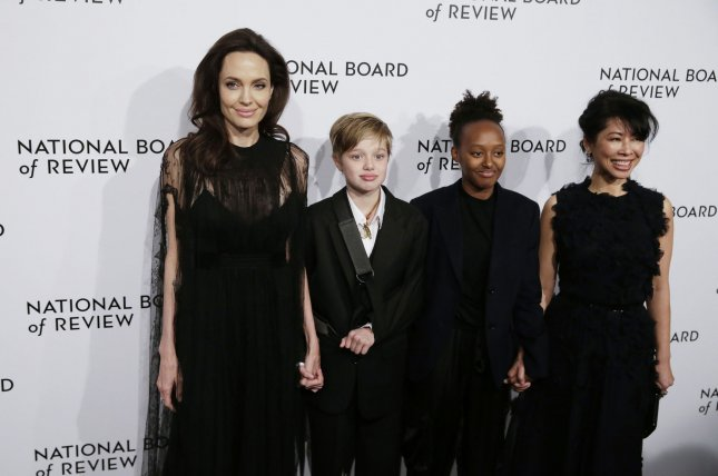 Angelina Jolie Steps out With Injured Daughter Shiloh in New York City