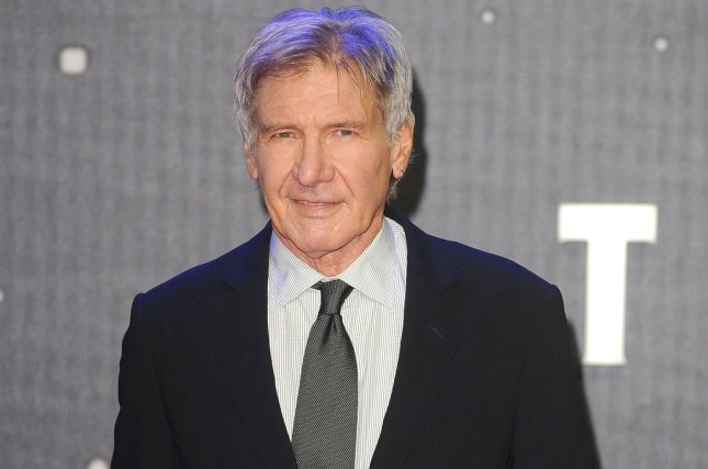 Harrison Ford will be a presenter at the Golden Globes along with Kaley Cuoco and Halle Berry. File Photo by Paul Treadway/ UPI