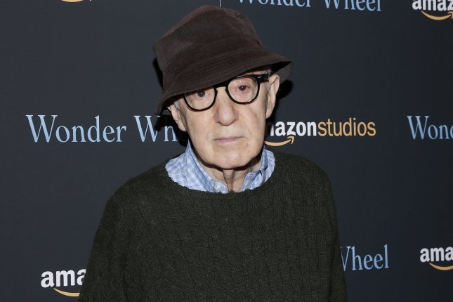 Woody Allen arrives on the red carpet at the Wonder Wheel screening at Museum of Modern Art on November 14, 2017 in New York City. The film was distributed by Amazon Studios, which Allen sued after the company canceled a four-film contract last year. File Photo by John Angelillo/UPI