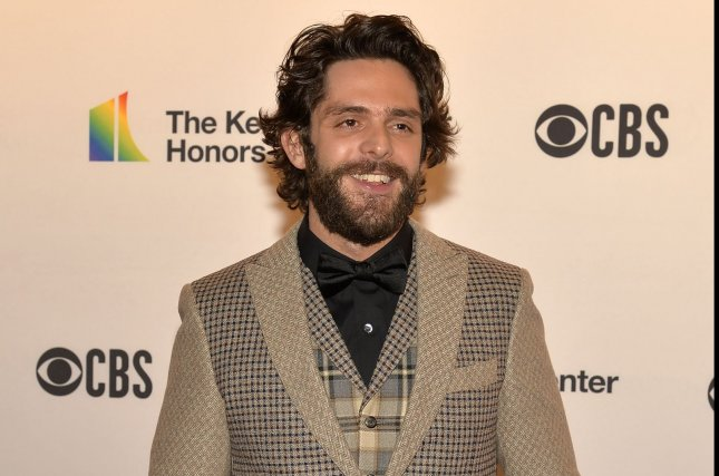 Thomas Rhett will perform during the iHeartRadio Living Room Concert Series, a weekly streaming event for coronavirus relief. File Photo by Mike Theiler/UPI