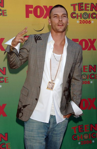 Kevin Federline arrives at the 2006 Teen Choice Awards in Universal City, California on August 20, 2006. (UPI Photo/Jim Ruymen)