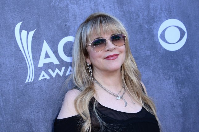 Musician Stevie Nicks attends the 49th annual Academy of Country Music Awards held at the MGM Grand Arena in Las Vegas, Nevada on April 6, 2014. The show will be broadcast live on CBS. UPI/Jim Ruymen