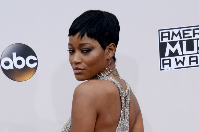 Actress Keke Palmer arrives for the 2016 American Music Awards in Los Angeles on November 20, 2016.Palmer is joining Season 2 of Berlin Station. File Photo by Jim Ruymen/UPI