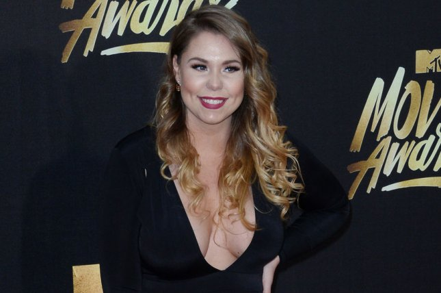 Kailyn Lowry attends the MTV Movie Awards on April 9, 2016. The reality star shared a first picture of Chris Lopez with their son Sunday on Instagram Stories. File Photo by Jim Ruymen/UPI