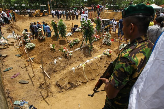 UNICEF has confirmed that 45 children died in the blasts at Sri Lankan churches and hotels. Photo by Perera Sameera/UPI