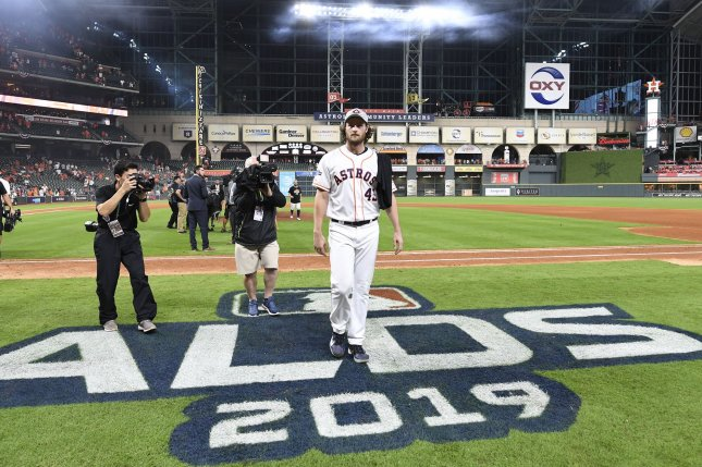 Turner Sports aired the 2019 National League Division Series between the Houston Astros and Tampa Bay Rays and will continue to air post-season games, along with Fox Sports, after a new deal with Major League Baseball. File Photo by Trask Smith/UPI